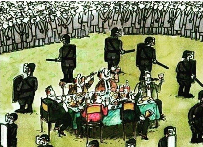 Народ сосредоточился на зада…