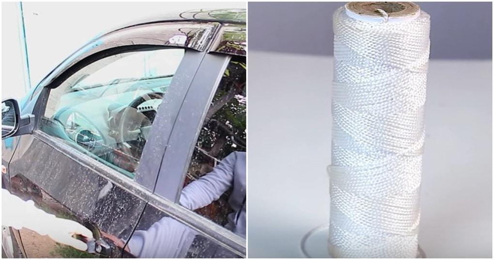 Хитрый лайфхак, позволяющий открыть захлопнувшуюся дверцу автомобиля