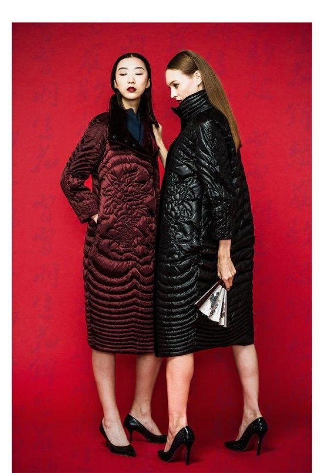 Новая мода на женские пуховики в сезоне осень-зима - Это интересно ... 05453bcd83a