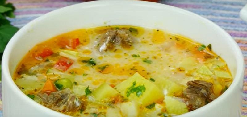Суп с говядиной и овощами: все хором просят добавки