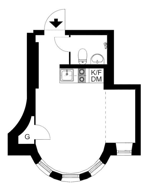 Планировка квартиры.