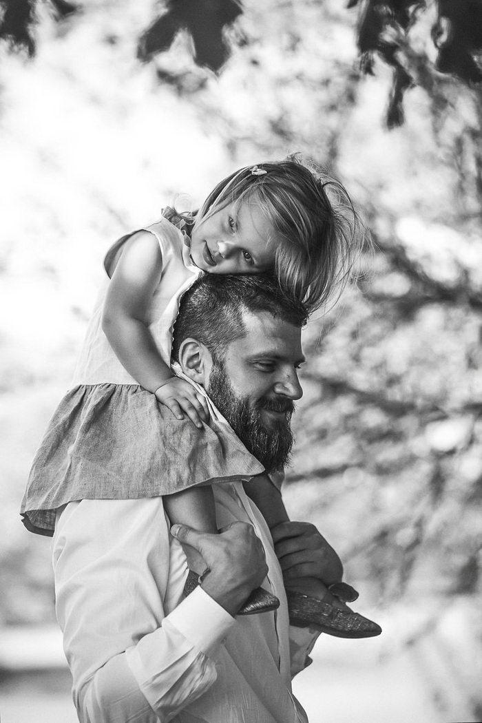 Отцы и дети: любовь в фотографиях