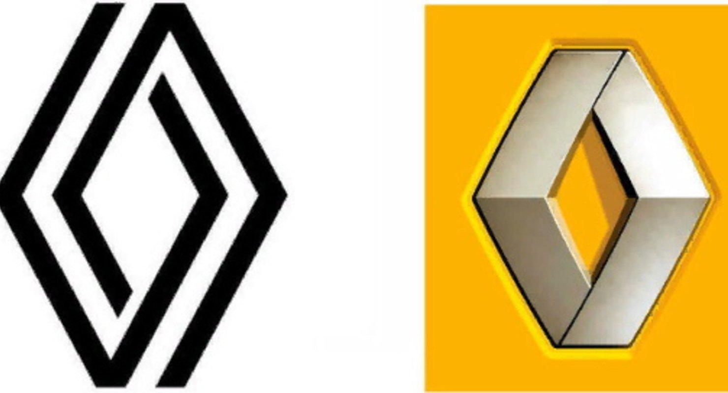 Новый логотип Renault: плоский вместо 3D Автомобили