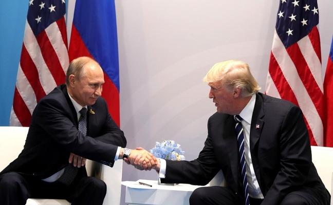 Путин поблагодарил Трампа заинформацию оготовящихся вРоссии терактах