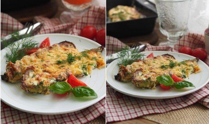 Запеченные кабачки со сметаной и сыром — блюдо дня