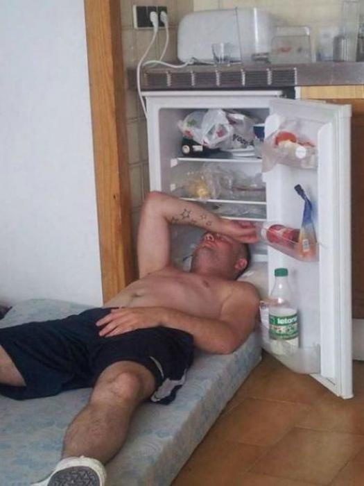 Холодильник для головы.