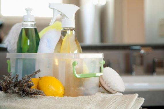 Экологически безопасные чистящие средства.