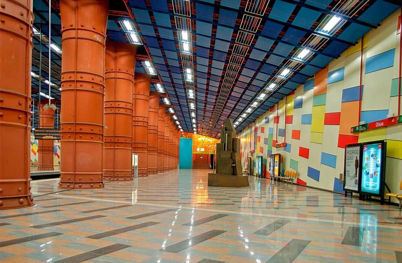 Красивейшие европейские станции метро