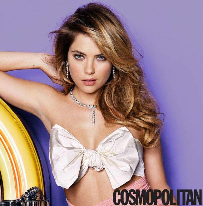 Девушка с обложки «Cosmopolitan»: Эшли Бенсон (март 2014)