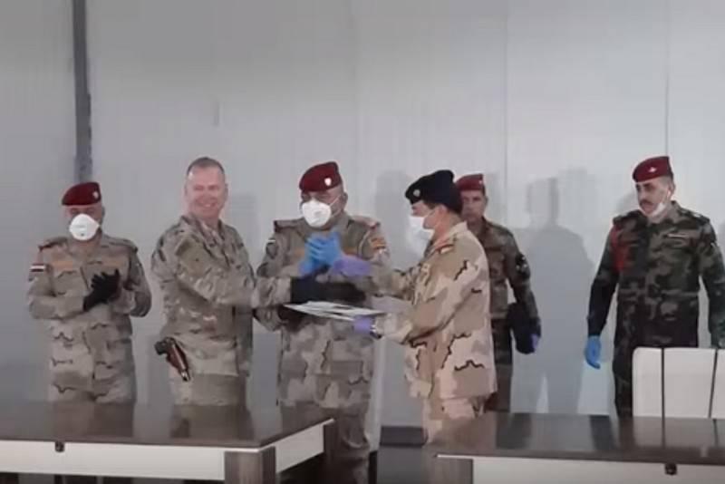 Очередная американская военная база передана иракским военным