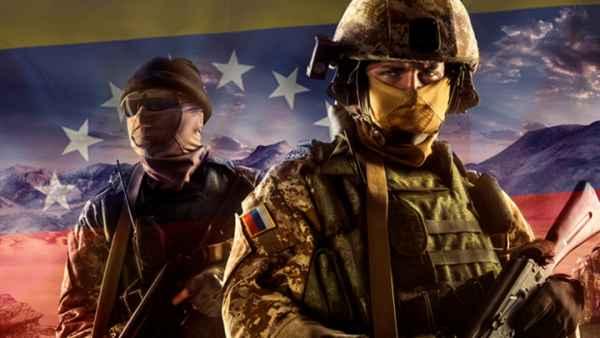 Русские военные в Венесуэле. Запад в панике геополитика