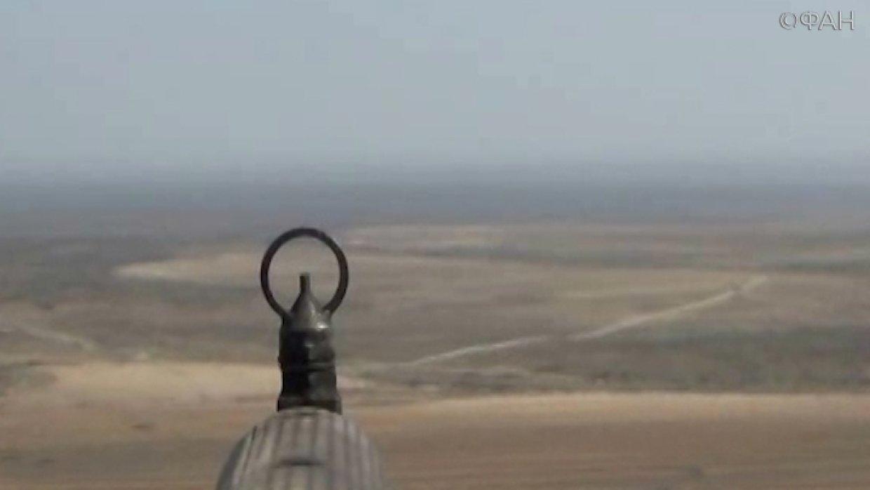 Сирия: опубликовано видео наступления армии Сирии на захваченную ИГИЛ Эс-Сувейду