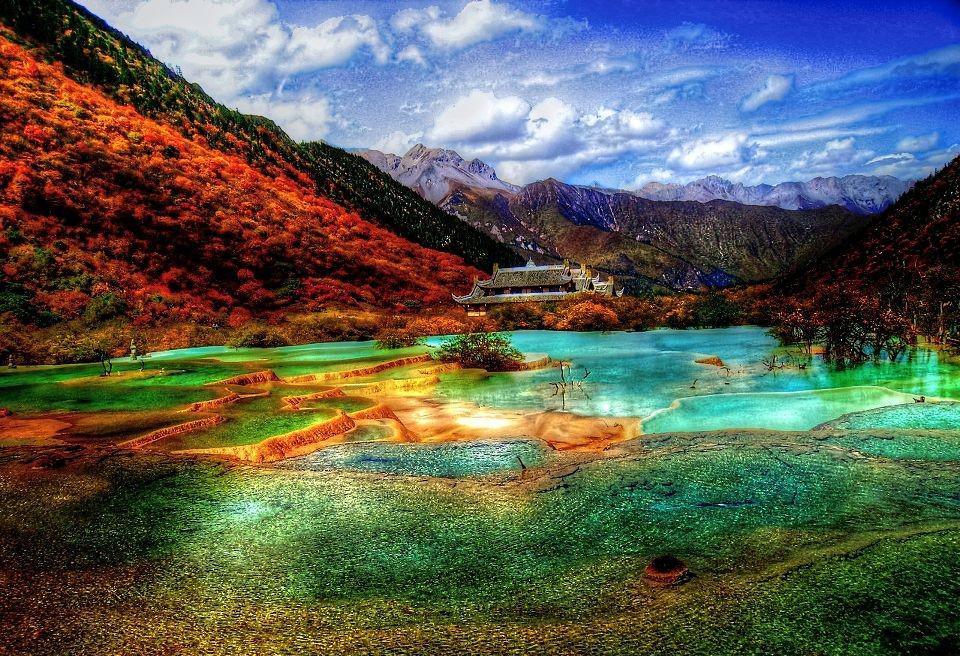 долина цзючжайгоу китай