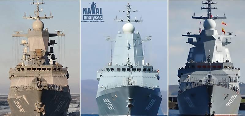 «Гремящий» и другие. Получит ли наш флот эффективные корабли ближней зоны? вмф