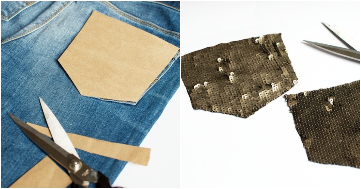 Однотонные джинсы стали казаться вам скучными? Добавьте новые интересные аксессуары