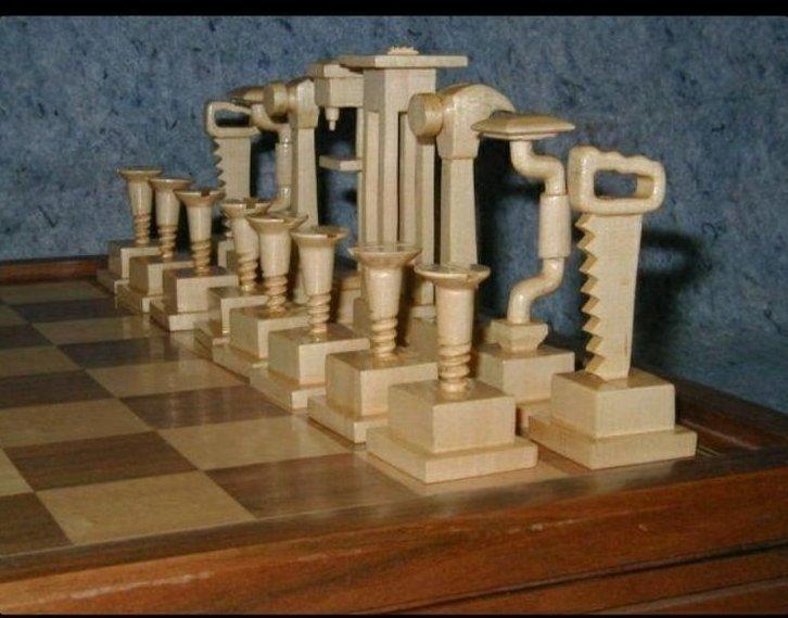 Невероятный полет фантазии шахматных мастеров искусство, красота, мастерство, невероятное, талант, шахматы