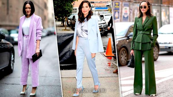 5 брючных костюмов, после которых вы уже не захотите надевать платье (совсем)