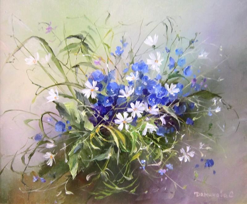 Стелла Даминова. Лесные цветы.