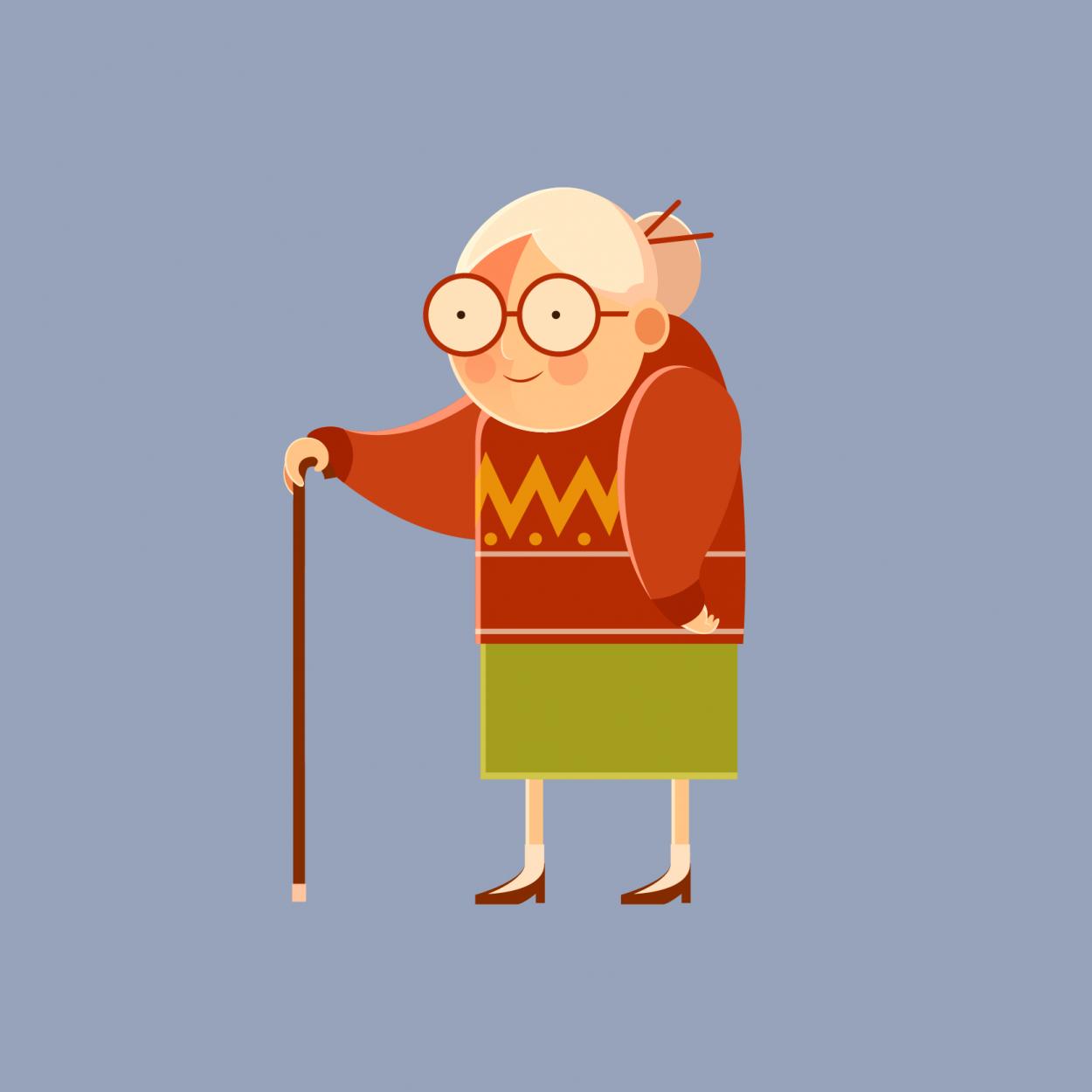 Анекдот о бабуле, попросивше…