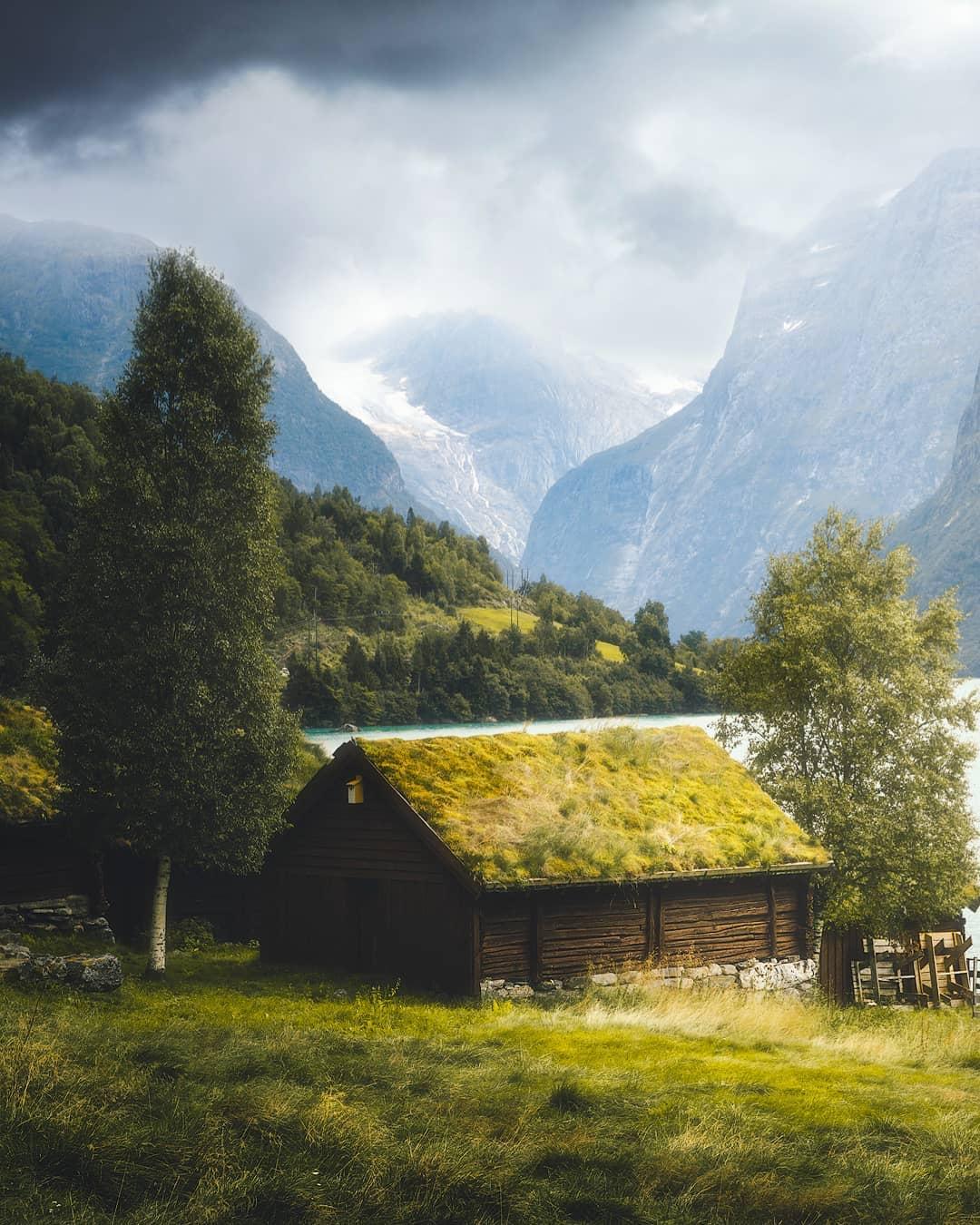 Захватывающие пейзажные фотографии Фредрика Стремме