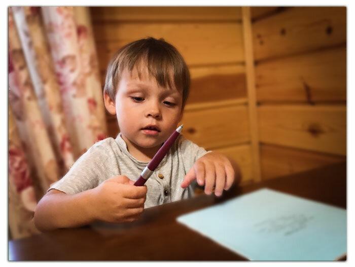 Причина плохого почерка – современная шариковая ручка