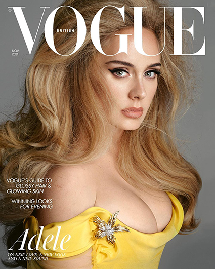 Адель снялась для обложки Vogue и дала первое интервью за 5 лет: о разводе, новом возлюбленном и похудении Интервью