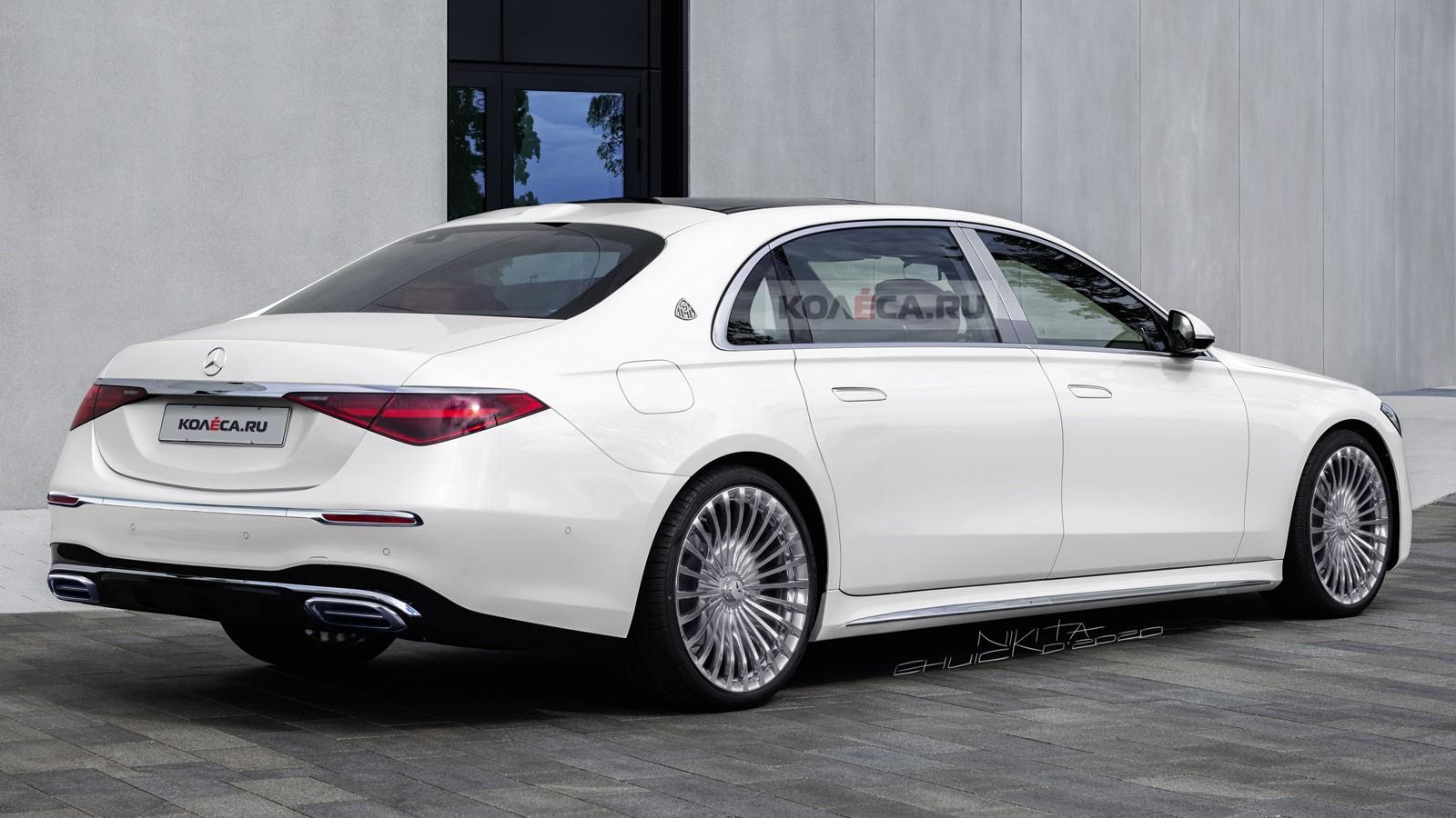 Новый Mercedes-Maybach S-класса: первые изображения авто,авто и мото,автосалон,машины,новости автомира,Россия,тюнинг