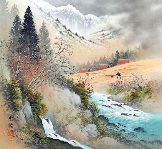 художник Коукеи Кодзима (Koukei Kojima) картины – 02