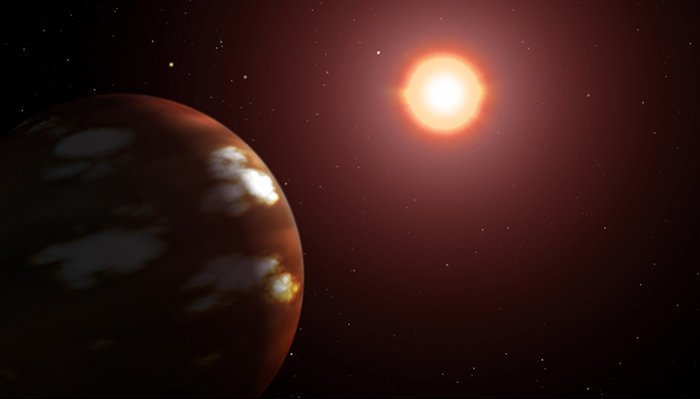 4. Глизе 436 b - экзопланета, бросающая вызов законам физики вселенная, интересное, космос, подборка, экзопланета