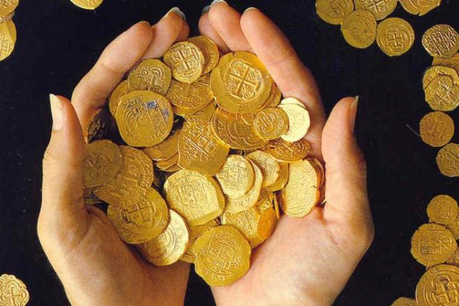 Случайные находки обычных людей: огромные клады просто лежали на виду золото,клад,кладоискательство,находка,Пространство,яйца фаберже