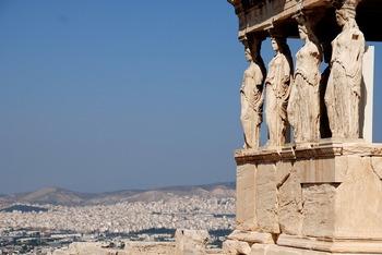 Афинский Акрополь закрыли для посещений из-за жары