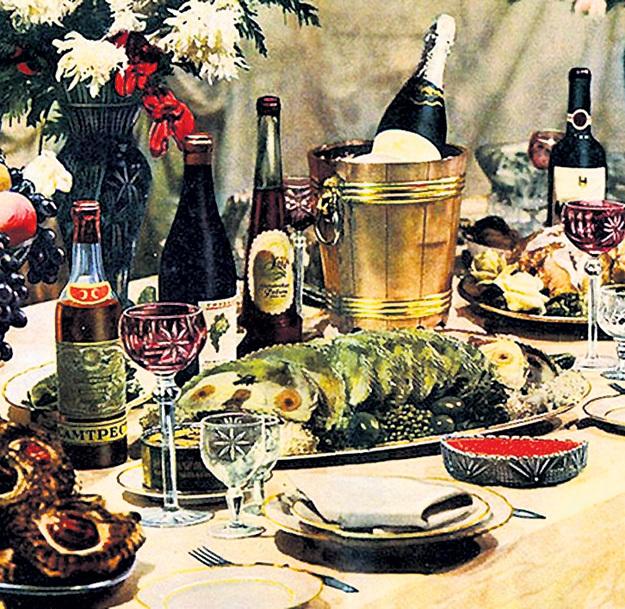 пасечных советский новогодний стол фото улиц
