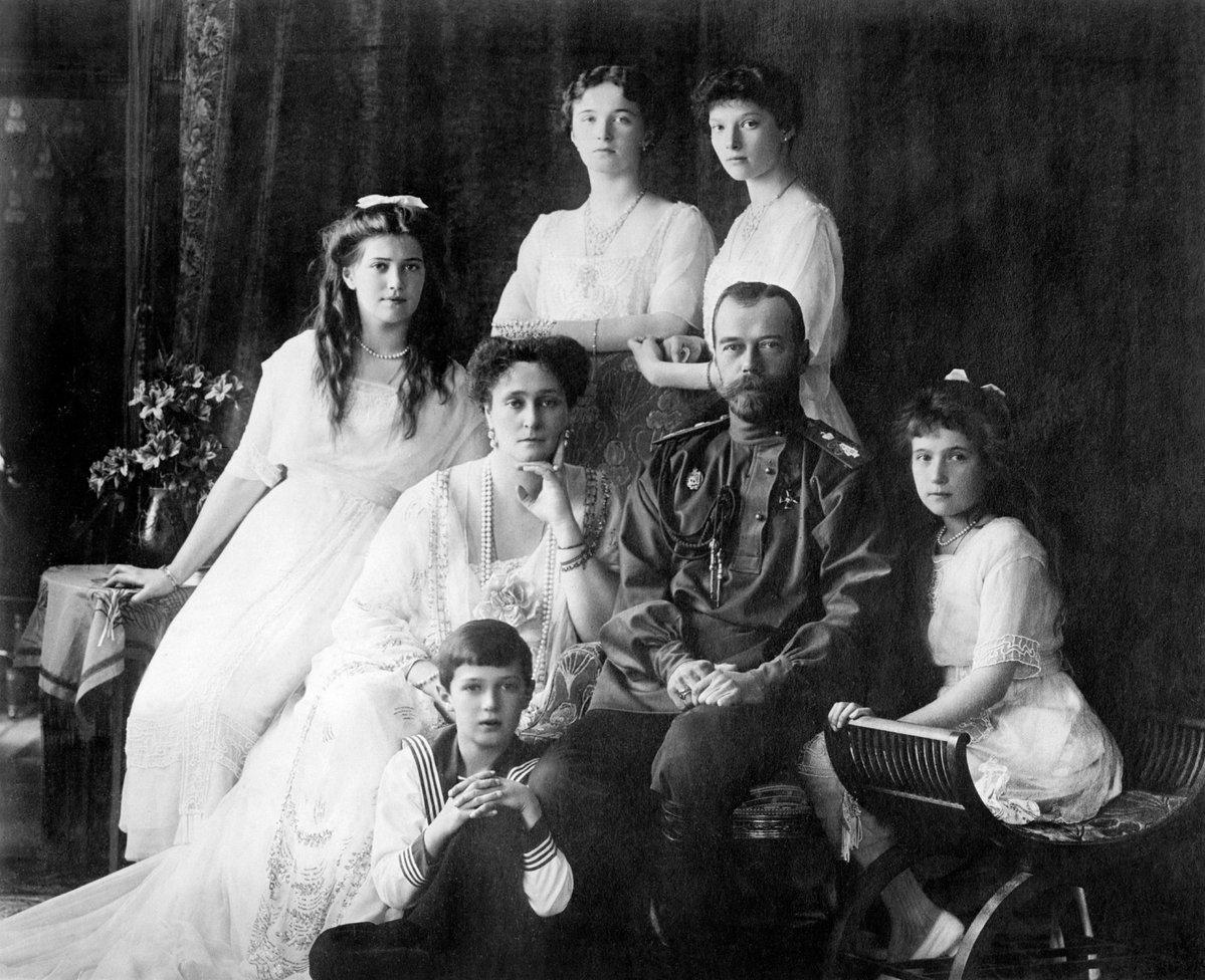 Исполнилось 100 лет со дня расстрела семьи последнего российского императора Николая II