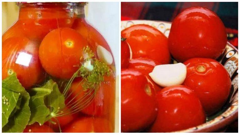 «Золотой рецепт». Сладкие закусочные помидорки на зиму: настоящая закуска на праздничный стол