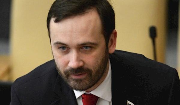 Илья Пономарев, сбежавший на…