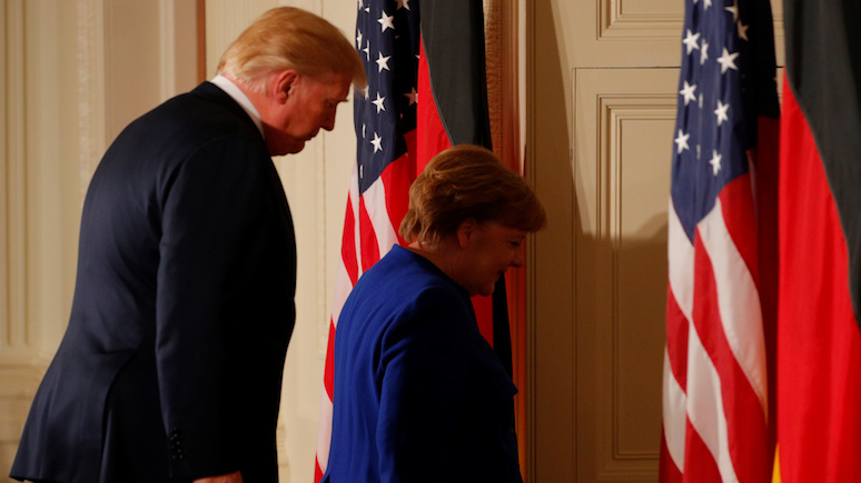 RP: конфликт между США и Германией «открывает двери» России и закрывает Украине