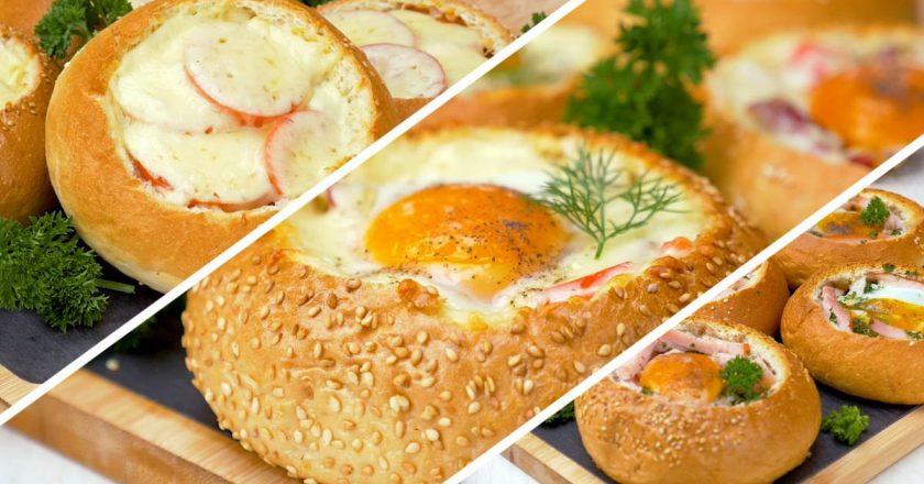 Хрустящие фаршированные булочки: заряд позитива на весь день
