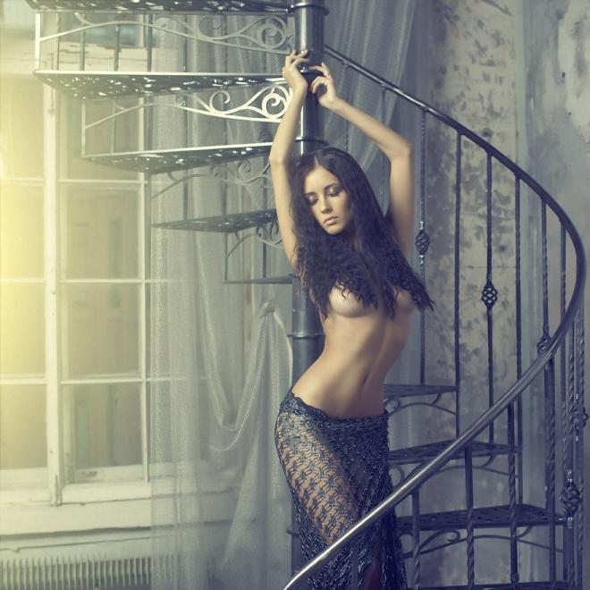 Красота женского тела в будуарной фотографии - 50 примеров - 23