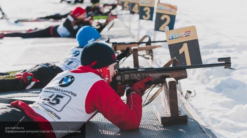 Сборная РФ по биатлону забрала серебро в смешанной эстафете на юношеской Олимпиаде