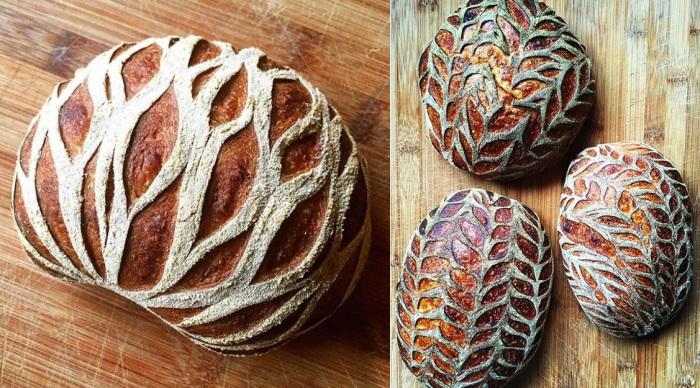 «Кружевной» хлеб от пекаря из Америки