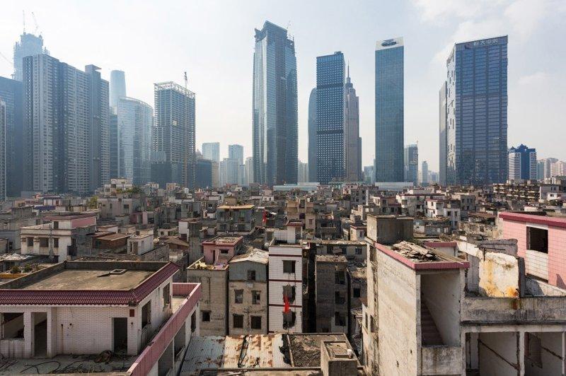 Гуанчжоу контраст, необычные кадры, столкновение эпох, удачные снимки, фото, хорошие кадры