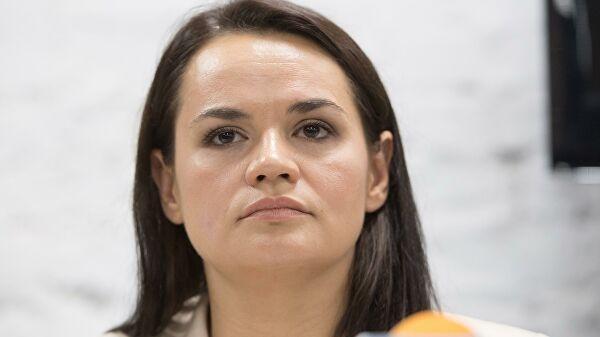 Тихановская заявила, что протесты в Белоруссии