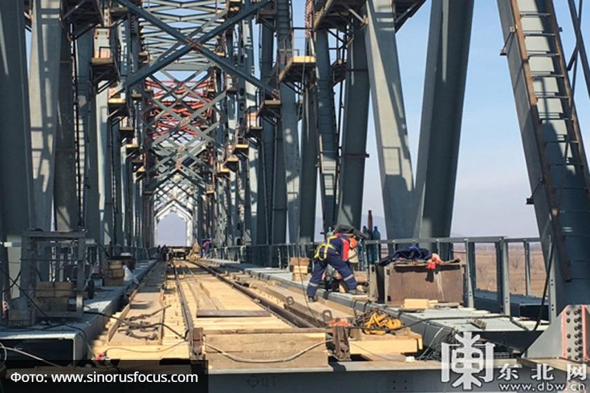 Мост в Китай, роботы-охранни…