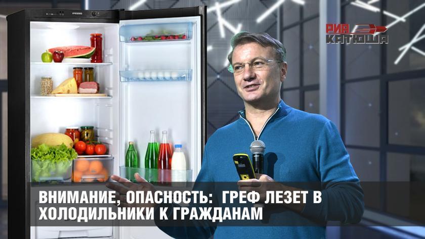 Внимание, опасность: Греф лезет в холодильники к гражданам россия