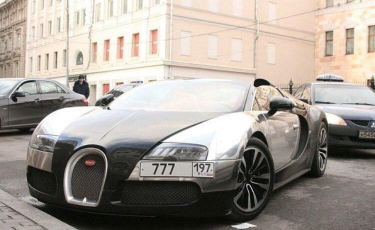 Какие Bugatti Veyron ездят по России?