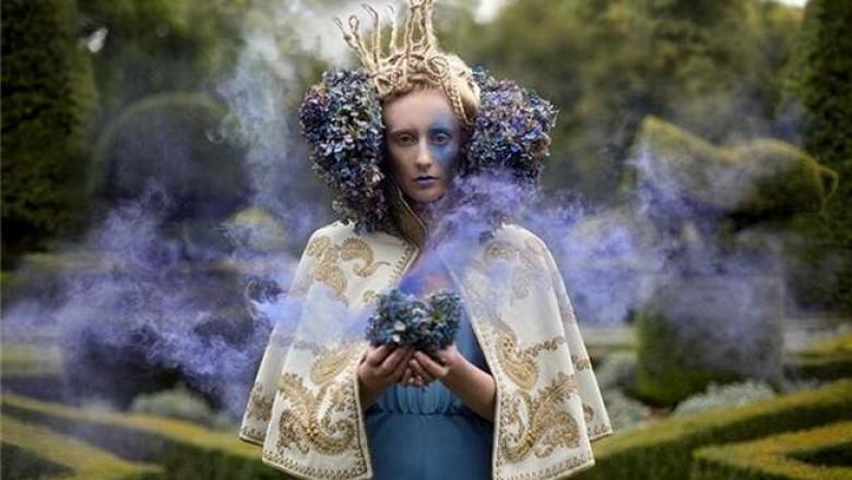 Фантазии Кирсти Митчел: мир волшебных сказок фотографа из Великобритании.