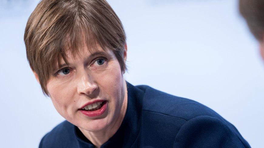 Кальюлайд рассказала о своих ожиданиях от переговоров в России.