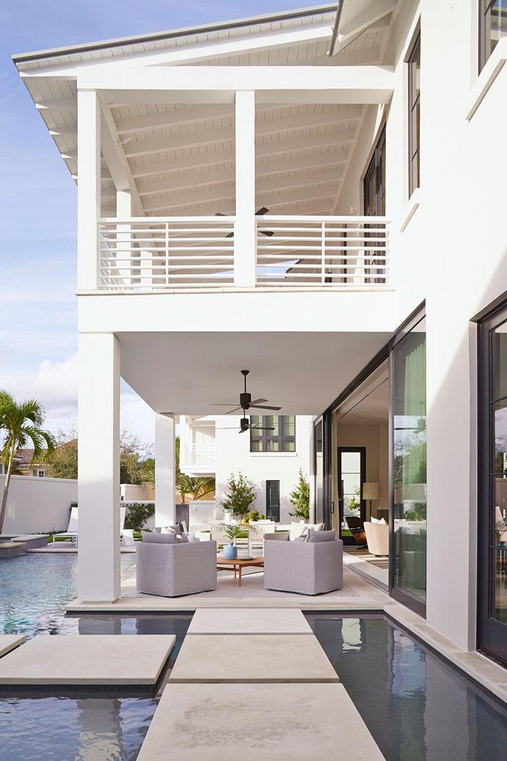 Уютный современный дом во Флориде