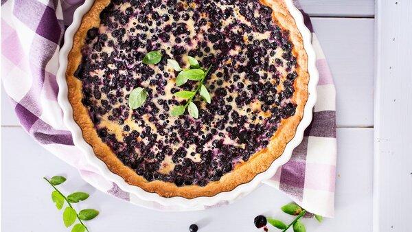 Самый известный десерт в Финляндии — Черничный пирог. Фото — Яндекс.Картинки