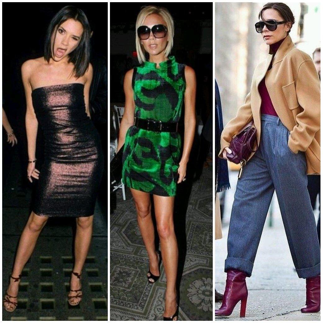 Из поп звезды в икону стиля: разбираем модные приемы Виктории Бекхэм